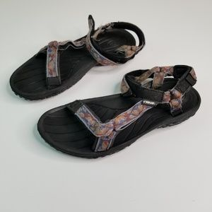 Teva Womens Size 9.5 S/N 6465 sandals slip on